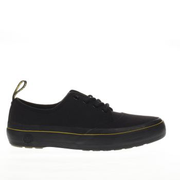 Dr Martens Black Jacy 4 Eye Lace Womens Flats