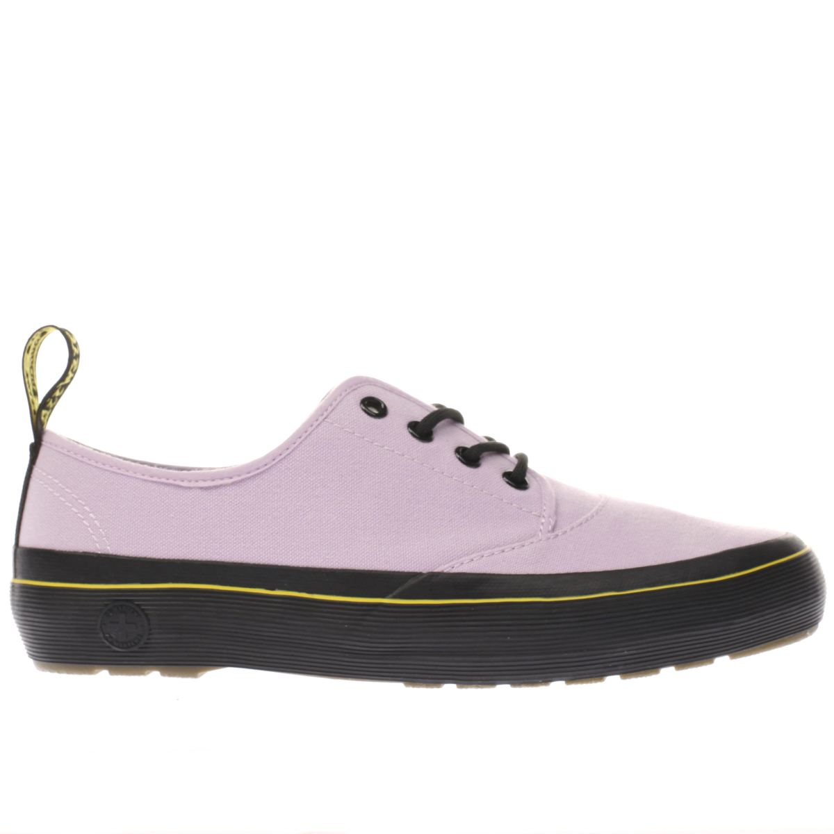 dr martens lilac jacy 4 eye flat shoes