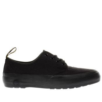Dr Martens Black Jacy 4 Eye Womens Flats