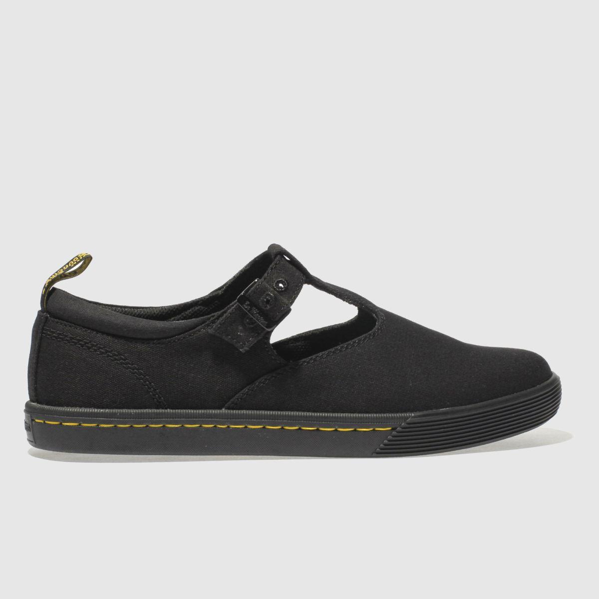 Dr Martens Black Winona Flat Shoes