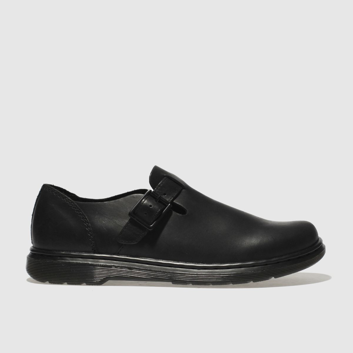 Dr Martens Black Patricia Iii Flat Shoes