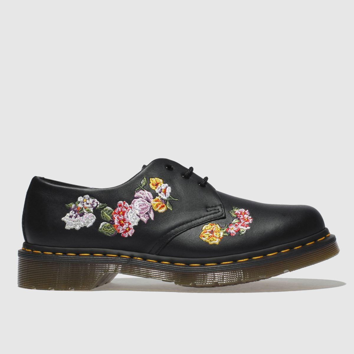 Dr Martens Black 1461 Vonda Ii Flat Shoes