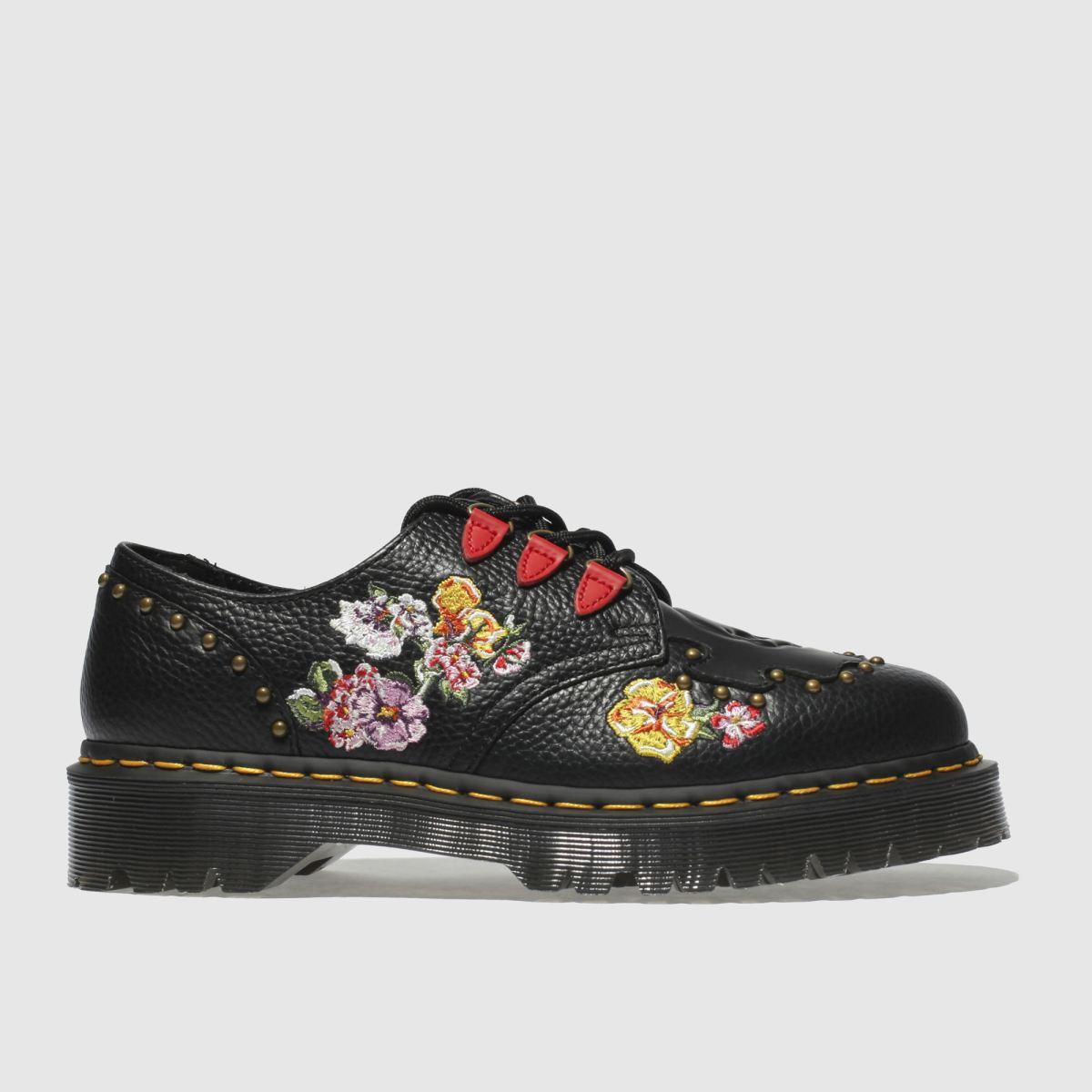 Dr Martens Black Serova Flat Shoes