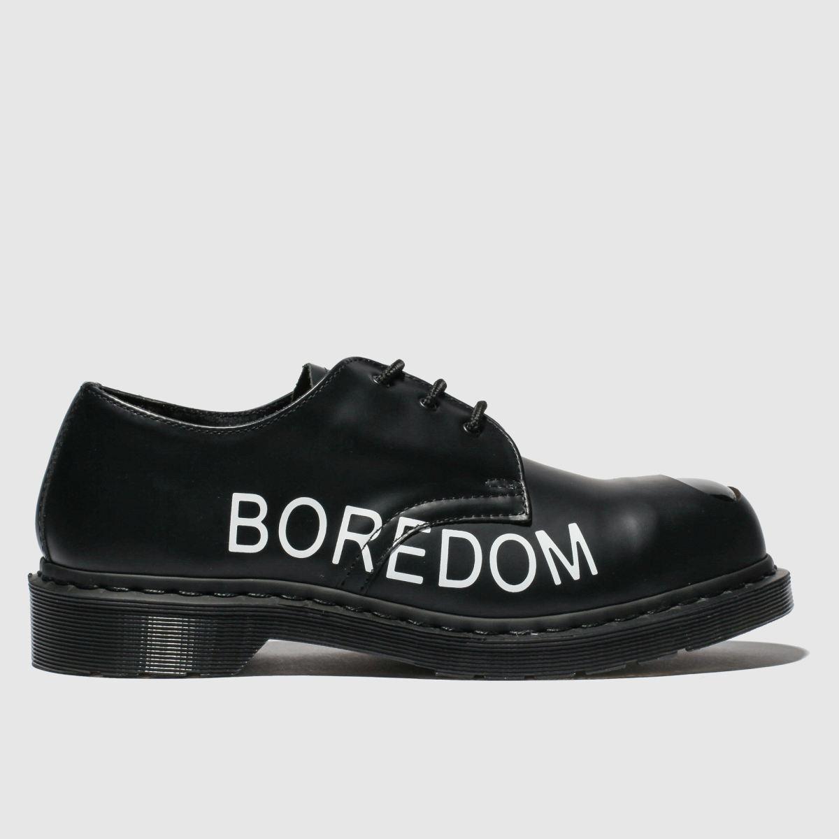 Dr Martens Black 1925 Eye X Sex Pistols Flat Shoes