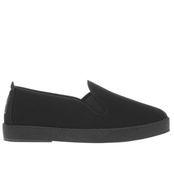 Flossy Black Anabel Womens Flats