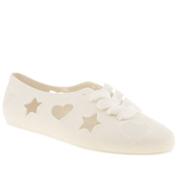 F Troupe White Asteria Flats