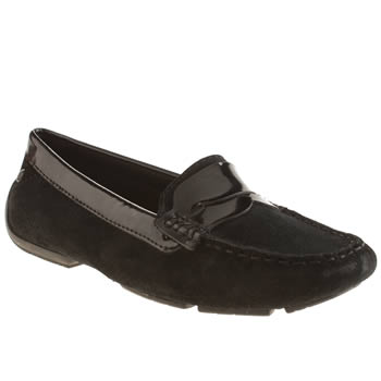 Hush Puppies Black Georgia Cora Flats