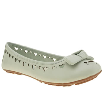 Hush Puppies Pale Blue Tattoo Heart Flats