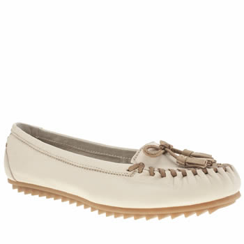 Womens Hush Puppies Stone Create Tassle Flats