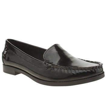 Hush Puppies Black Irena Sloan Flats