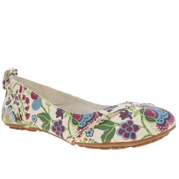 Womens Hush Puppies Multi Janessa Liberty Floral Flats