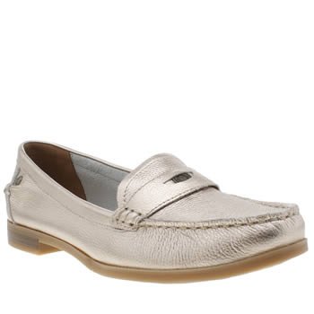 Hush Puppies Rose Gold Iris Sloan Womens Flats