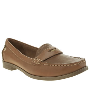 Hush Puppies Tan Iris Sloan Womens Flats