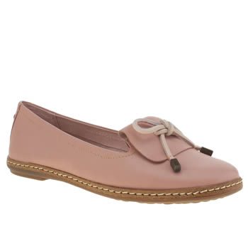 Hush Puppies Pale Pink Adena Piper Flats