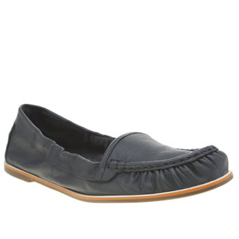 Hush Puppies Navy Karlotta Flats