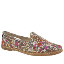 Hush Puppies Multi Sebeka Piper Womens Flats