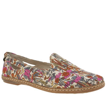 Womens Hush Puppies Multi Sebeka Piper Flats