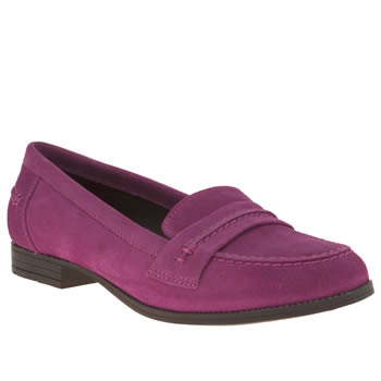 Hush Puppies Pink Cathcart Womens Flats