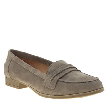 Hush Puppies Grey Cathcart Womens Flats