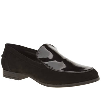 Hush Puppies Black Redcliffe Flats