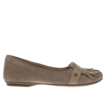 Hush Puppies Beige Messitt Robyn Womens Flats