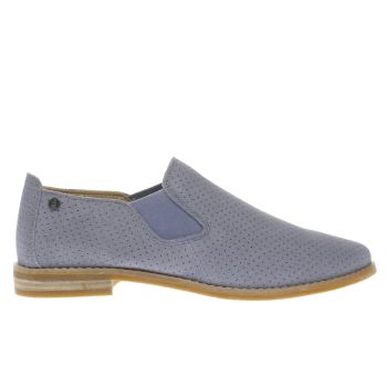 Hush Puppies Blue Analise Clever Womens Flats