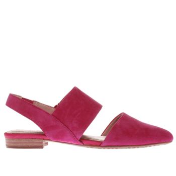 HUSH PUPPIES PINK JOTHAM PHOEBE FLAT SHOES