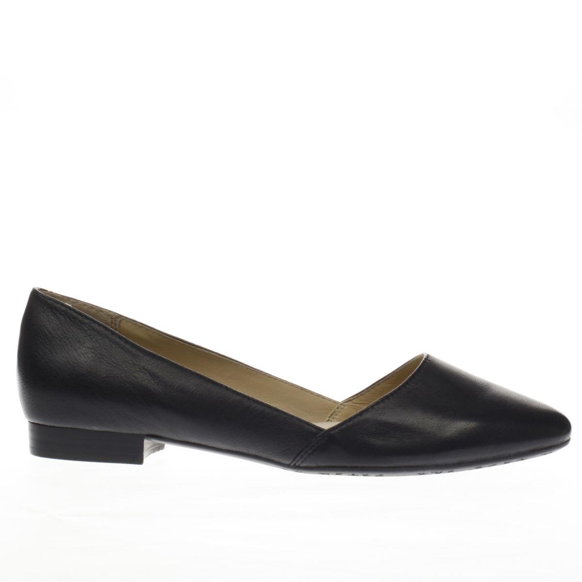 hush puppies black jovanna phoebe flat shoes