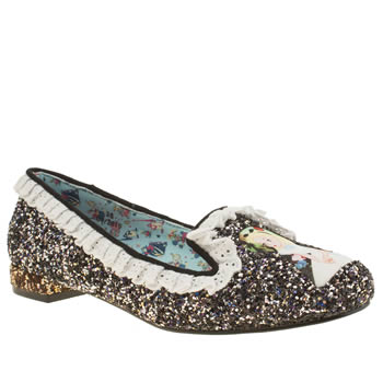 Irregular Choice Multi Alice How Curious Flats