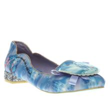 Irregular Choice Blue Cinderella Believe In Magic Womens Flats