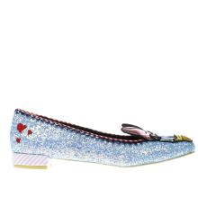 Irregular Choice Light Blue X Disney Whoa! Womens Flats