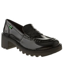 Black Kickers Kopey Loafer