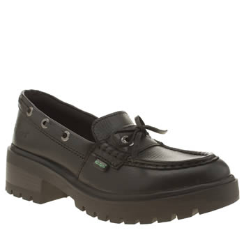 Kickers Black Kickmando Loafer Flats