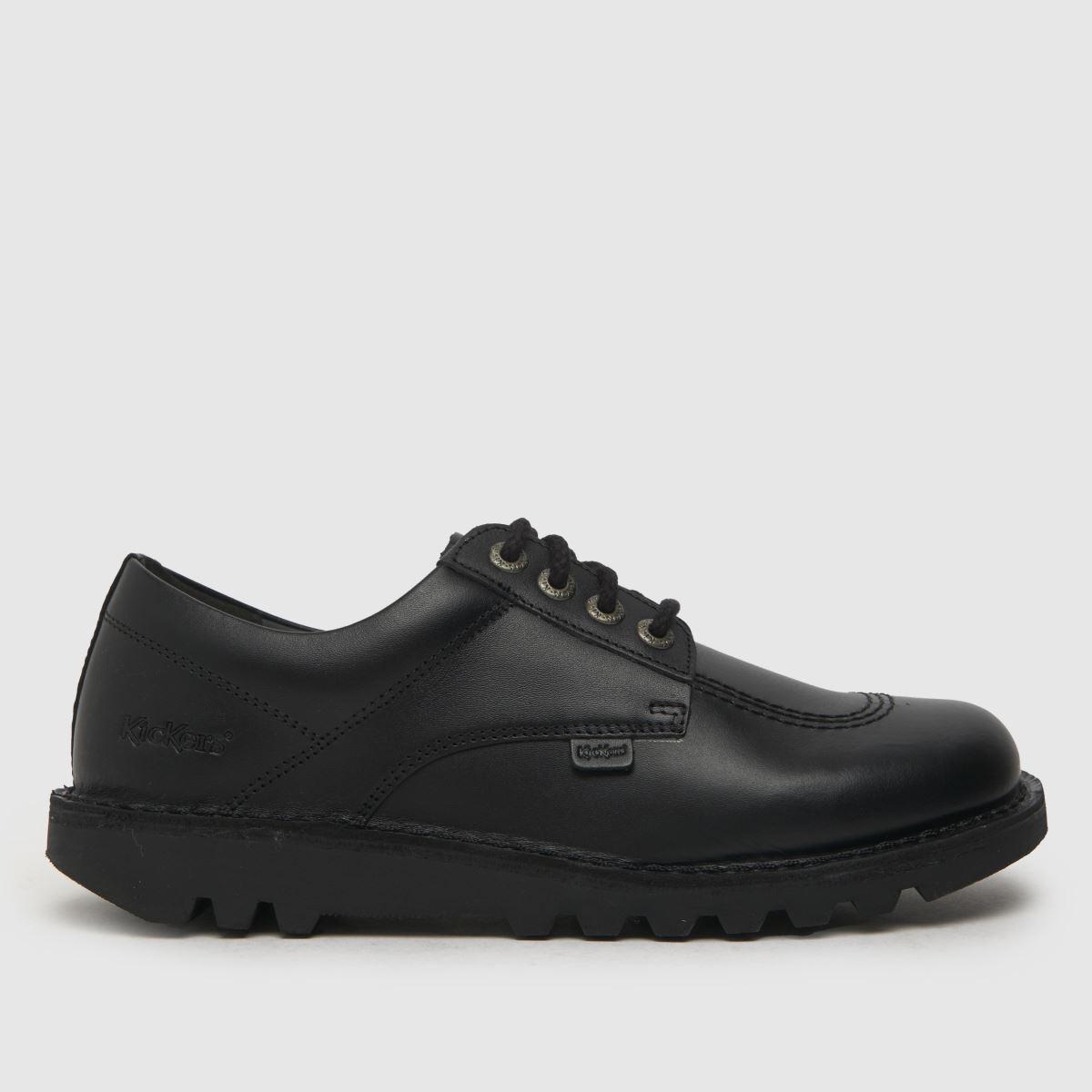 Kickers Kickers Black Kick Lo Flat Shoes