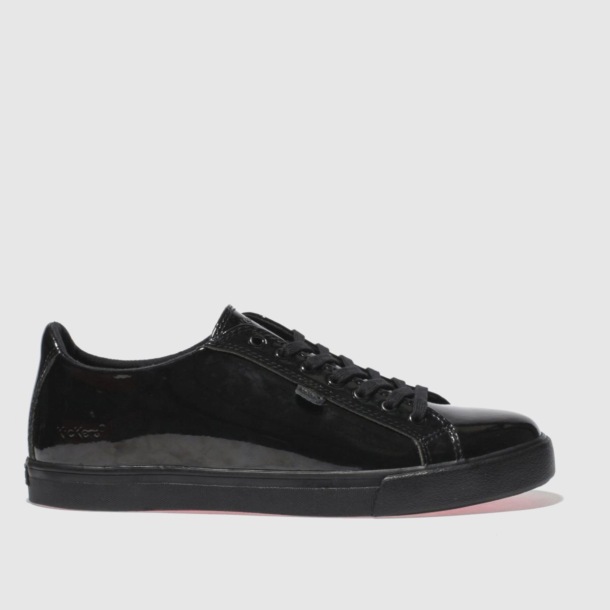 Kickers Black Tovni Lacer Flat Shoes