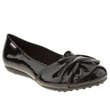 Rocket Dog Black Risky Patent Womens Flats