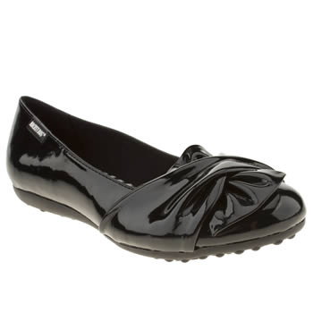 Womens Rocket Dog Black Risky Patent Flats