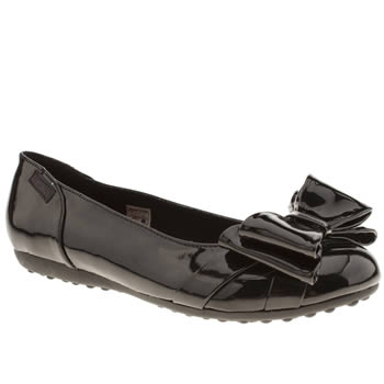 womens rocket dog black ramona patent flat shoes