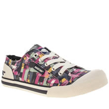 Rocket Dog Pink Jazzin Take Off Womens Flats