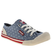 rocket dog jazzin iv chambray dot 1