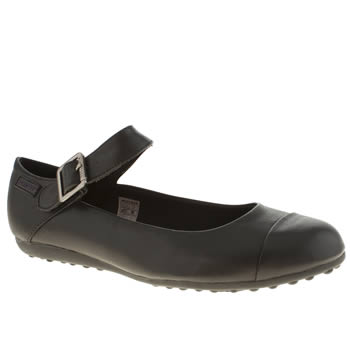 Womens Rocket Dog Black Rowland Flats