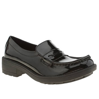 womens rocket dog black tori patent flat shoes
