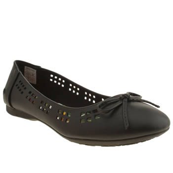 Womens Rocket Dog Black Razzle Flats