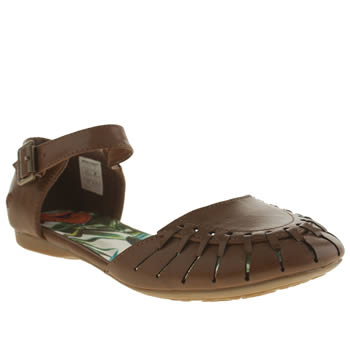 Womens Rocket Dog Brown Ridge Flats