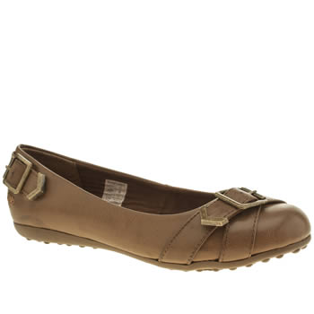 Rocket Dog Tan Regina Flats