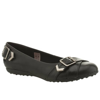 Womens Rocket Dog Black Regina Flats