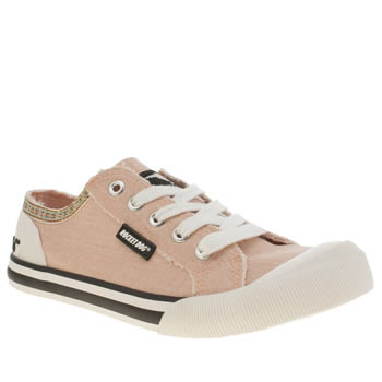 Rocket Dog Pale Pink Jazzin Joker Flats