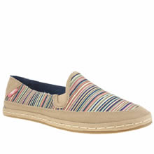 Rocket Dog Multi Wheelie Bubble Stripe Womens Flats
