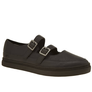 Rocket Dog Black Vector Whitman Womens Flats