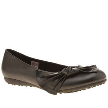 ROCKET DOG BLACK ROSCOE FLAT SHOES